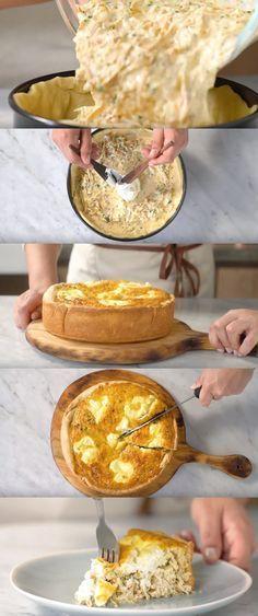 3 Recheios de Torta Salgada #3RecheiosDeTorta #comida #culinaria #gastromina #receita #receitas #receitafacil #chef #receitasfaceis #receitasrapidas