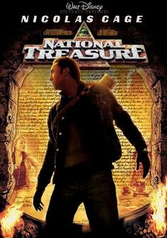 National Treasure (2004) Modern treasure hunters, led by archaeologist Ben Gates, search for a chest of riches rumored to have been stashed away by George Washington, Thomas Jefferson and Benjamin Franklin during the Revolutionary War.