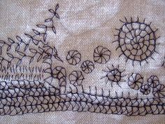 Embroidery. kathrin. Annekata. Based on the tale of the Shepherd Boy by the Brothers Grimm.