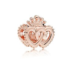 Authentic PANDORA Rose Gold United Regal Crown Hearts Charm Pendant 787670 for sale online Charms Pandora, Pandora Bracelets, Pandora Jewelry, Charm Jewelry, Jewelry Bracelets, Pandora Accessories, Pandora Pandora, Wrap Bracelets, Pandora Rose Gold