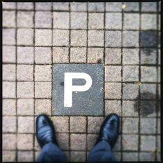 """P"", Parkplatz, Taunus"
