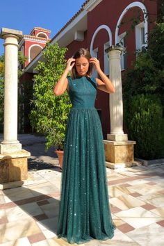 Vestido claudia verde,prom dress ,party evening - My Sweet Dress Long Prom Gowns, Prom Party Dresses, Quinceanera Dresses, Homecoming Dresses, Evening Dresses, Dress Party, Occasion Dresses, Bridesmaid Dresses, Wedding Dresses