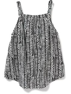 Patterned Poplin Swing Tank for Baby  Product Image