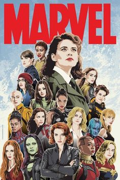 Women of Marvel!! I love this!!