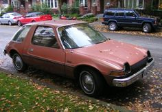 AMC Pacer Wagon...i used to drive one of these....to school!