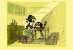 Bocetos para Coraline