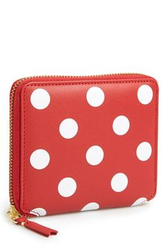 Shop for 'Polka Dot' French Wallet by Comme des Garcons at ShopStyle. Pin Up Vintage, Red Dots, Polka Dots, Pin Up Style, My Style, Cute Wallets, My Beautiful Friend, Connect The Dots, Coin Purse Wallet
