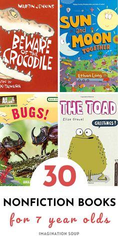 Books For Boys, Childrens Books, Best Non Fiction Books, Nonfiction Books For Kids, Sports Illustrated Kids, Good Books, Books To Read, Planet Books, Reading Strategies