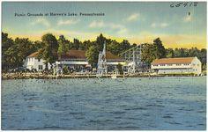 Picnic grounds at Harvey's Lake, Pennsylvania   Flickr - Photo Sharing!