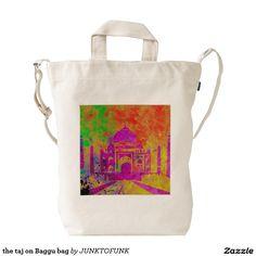 the taj on Baggu bag