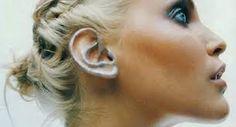 Resultado de imagen para tendencia primavera 2016 maquillaje orejas