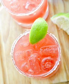 2 point Watermelon Margaritas  - Recipe Diaries
