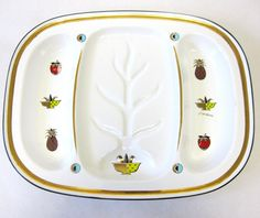 Large Georges Briard Serving Tray White by sweetie2sweetie on Etsy, $29.99