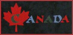 Postcards from...Canada Quilt Pattern