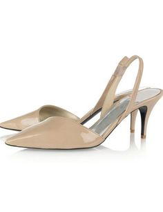 Stylish Apricot Leather High Heel Dress Shoes For Women