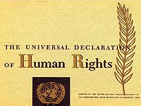Dec 10, 1948 - Universal Declaration of Human Rights - the General Assembly of the United Nations adopted and proclaimed the Universal Declaration of Human Rights, the full text of which appears in the following pages.