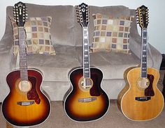 Guild makes the best 12 string guitars out there, hands down. Guild Acoustic Guitars, Seagull Guitars, 12 String Guitar, Cool Guitar, Music Instruments, Amazing, Awesome, Keys, Heaven
