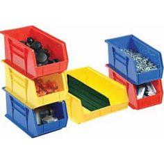 Akro-Mils Stacking and Hanging Bins - Akrobins®. #organize #garage #tools akro-mils.com