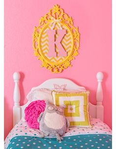 Our Little Bit of Sunshine: The Girls Pink Room...
