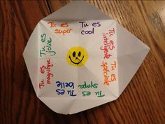 fortune teller for French...use future tense verbs