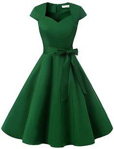 Dressystar DS1955 Women Vintage 1950s Swing Cap Sleeevs P... https://www.amazon.com/dp/B06VVJKB5D/ref=cm_sw_r_pi_dp_x_.oeozbVVGVS3M