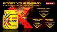 NUTREND EXPLOSIN 420g - Proteini.si Sport Nutrition Center