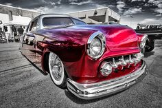 Candy Paint Lowrider Front Quarter Incredible picture of the beautiful classic car  The reflections in the paint are just beautiful Look delicious enough to eat !