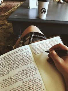 Journal Aesthetic, Book Aesthetic, Coffee Shop Aesthetic, Study Inspiration, Journal Inspiration, Penmanship, Study Motivation, Light In The Dark, Book Worms