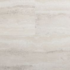 STAINMASTER 1-Piece 12-in x 24-in Groutable Oyster Travertine/White Peel-And-Stick Stone Luxury Vinyl Tile Residential Vinyl Tile