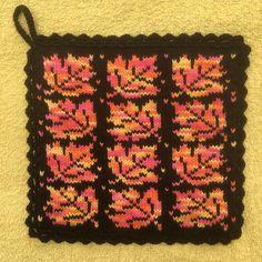 Potholders, Knit Or Crochet, Double Knitting, Knitting Stitches, Knit Patterns, Pagan, Elsa, Crafts, Diy