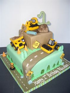 If only we were having a birthday party this year.  The boys would love this cake!