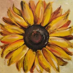 New sunflower painting available!