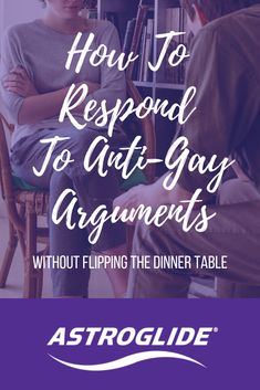 You can't choose your family, but you can choose how you react to their statements. If you're faced with a homophobic family member, these rebuttals can help you make your point without any steak knives flying. Lesbian, Gay, Lgbt Rights, Steak Knives, Your Family, Spice, Corner, Rainbow, Spices