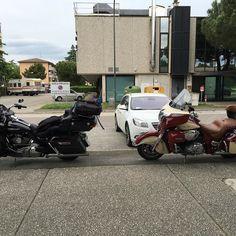 #harley #harleydavidson #davidson #roadglide #roadglideultra #travelling #touring with #indian #roadmaster #ravenna #rimini #swizzly #swizzlybiker #reunion #italy by swizzlybiker