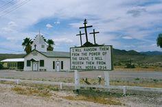 Church, Tecopa, California