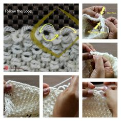 Loom Knitting Stitches Too Loose : Loom Knit Stitches on Pinterest Loom Knit, Knitting and Stitches