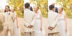 Granby Ranch wedding first look