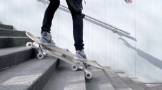 New Skateboard Concept Uses 8 Wheels To Take On Stairs #technology