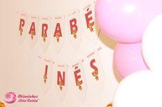 Bandeirola para Aniversário - Tema Patrulha Pata Cake, Desserts, Food, Favors, Tailgate Desserts, Deserts, Food Cakes, Eten, Cakes