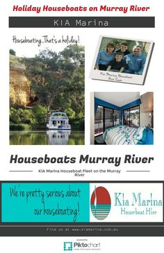 Holiday Houseboats on Murray River Houseboat Rentals, Murray River, Houseboats, Editor, Holiday, Vacations, Holidays, Vacation