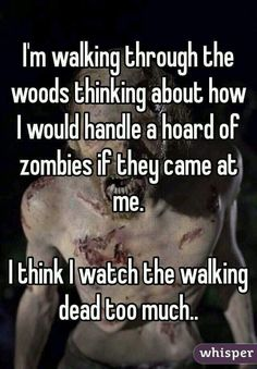 There's no such thing as too much twd!