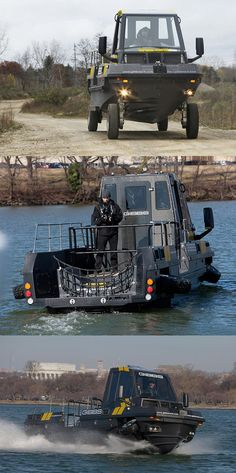 Gibbs Amphibians designed a high-speed amphibious cars called Phibian, which top speed of 30 miles (48 kilometers) per hour,when driving on the water.