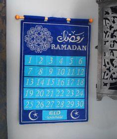 The new blue jewel Ramadan tracker from Eidway.com