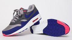Nike Air Max 1 - Grey / Navy