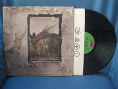 RARE Vintage Led Zeppelin  IV ZOSO Vinyl Lp by sweetleafvinyl, $34.99  Have this, I think this is my favorite album of all time.