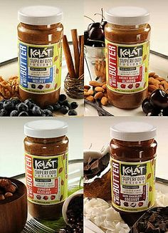 Kolat fruit and nut butters!  The dark chocolate coconut, hazelnut espresso, and cherry vanilla almond varieties are compliant!