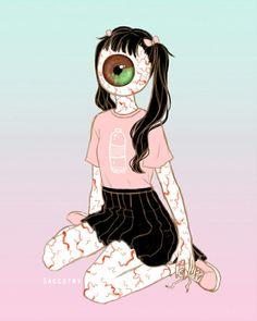 Creepy Drawings, Creepy Art, Art Drawings, Arte Horror, Horror Art, Goth Art, Psychedelic Art, Game Design, Art Sketches