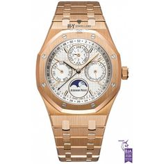 Audemars Piguet Royal Oak Perpetual Calendar Rose Gold - ref 26574OR.OO.1220OR.01