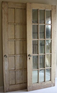 french doors using antique mirrors - Yahoo! Search Results