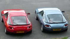 https://flic.kr/p/4GEsbQ | Porsche 928S 928S2 | Porsche 928S and 928S2